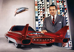 Modelo a escala 3/8 del Ford Nucleon